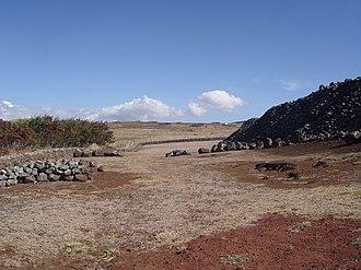 Kohala Historical Sites State Monument - Image: Mo'okini