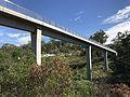 Moggill Road Cycle Bridge on Western Freeway Bikeway 02.jpg