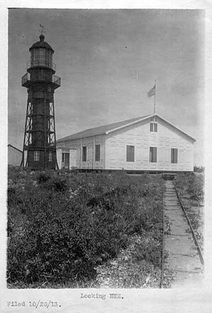 Mona Island Light - Mona Island Light, ca. 1913