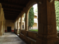 Monasterio de Yuste. Claustro gótico. crujía..TIF