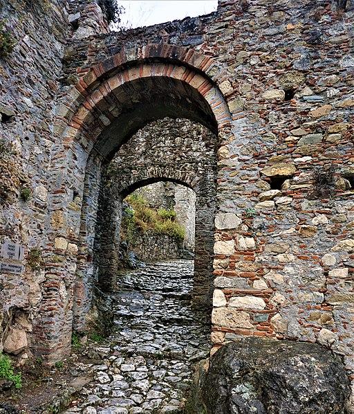 Monemvasia Gate At Mystras