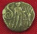 Monetiere di fi, moneta romana repubblicana con eracle e il serpente.JPG