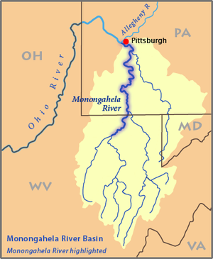 List Of Rivers Of Pennsylvania Wikipedia - United states rivers map