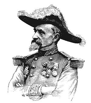 Commemorative medal of the 1859 Italian Campaign - General Alexandre Montaudon, a recipient of the Commemorative medal of the 1859 Italian Campaign