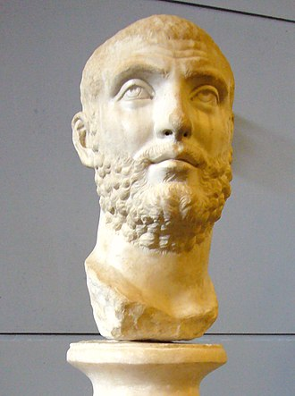 Diocletian - Head of Carinus at the Centrale Montemartini