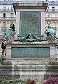Monument Dumas socle, place du Général-Catroux, Paris 17e.jpg