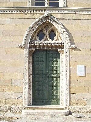 Santa Maria in Brera - Image: Monza Parco Villa Reale cascina San Fedele 06 ingresso