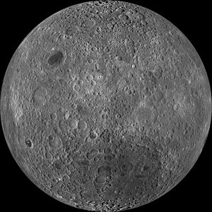 Far side of the Moon - Detailed view by the Lunar Reconnaissance Orbiter (LRO)