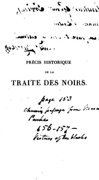 File:Morénas - Précis historique de la traite des noirs et de l'esclavage colonial, 1828.djvu