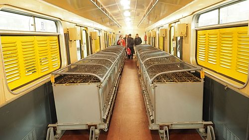 Moscow metro VEKA-001 battery shunter car interior 2.jpg