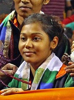 Mouma Das Indian table tennis player