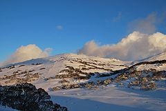 Mount Perisher at 2054m