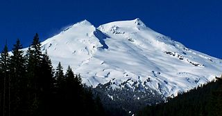 Mount Baker Stratovolcano in Washington state, United States