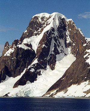 Mount Scott (Antarctica) - Mount Scott, February 2001