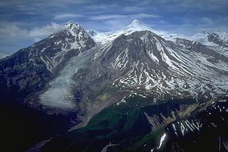 Mount Spurr - Mount Spurr from the south