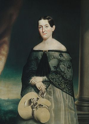James M. Cook - Portrait of his wife, Anna Cady by Nelson Cook, 1840, at The Metropolitan Museum of Art