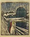 Munch Girls on the pier Woodcut.jpg