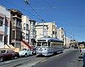 Muni 1054 on 17th Street, September 1998.jpg