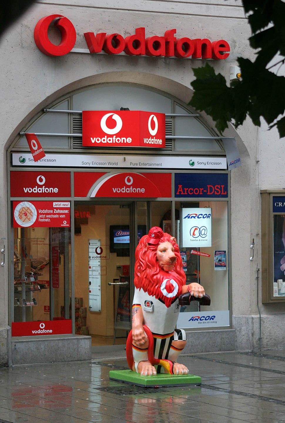 Munich Leo Parade Vodafone