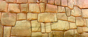 Inca architecture - Inca wall in Cuzco