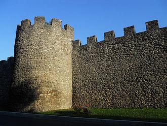 Rieti - The medieval walls