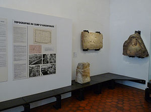 Argentoratum - Part of a room dedicated to Argentoratum in the Musée archéologique de Strasbourg