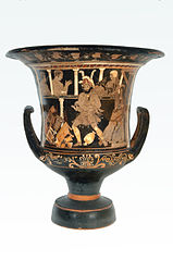Krater of the madness of Heracles