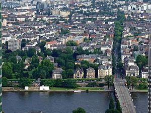 Sachsenhausen (Frankfurt am Main) - Image: Museumsufer teil 2 ffm 002