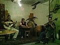 Musica tradicional armenia en Yerevan.JPG