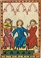 Musicians from Codex Manesse, 1305-40 (27935469787).jpg