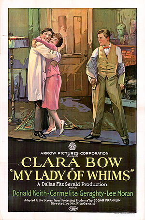My Lady of Whims - Film poster