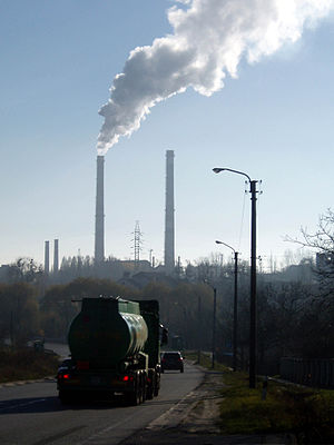 Mykolaiv, Lviv Oblast - Mykolaiv Cement Factory
