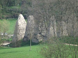 Aresaces - Remains of a Roman aqueduct at Mainz