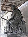 Národní muzeum-Statue at the Entrance during renovations-2.jpg