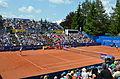 Nürnberger Versicherungscup 2014 - Centercourt des 1.FCN Tennis am Valznerweiher von Süd-Osten 01.JPG