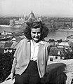 Női portré, 1952. Fortepan 12235.jpg