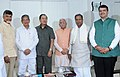 N. Chandrababu Naidu, the Chief Minister of Uttarakhand, Shri Harish Rawat, the Chief Minister of Mizoram, Shri Lal Thanhawla, the Chief Minister of Karnataka, Shri Siddaramaiah, the Chief Minister of Haryana.jpg