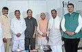N. Chandrababu Naidu, the Chief Minister of Uttarakhand, Shri Harish Rawat, the Chief Minister of Mizoram, Shri Lal Thanhawla, the Chief Minister of Karnataka, Shri Siddaramaiah, the Chief Minister of Haryana.jpg