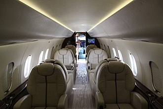 Fairchild Dornier 328JET - business jet interior