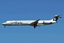 N958AS MD-83 Alaska Al YVR 24AUG05 (6920119895).jpg