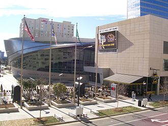 NASCAR Hall of Fame - NASCAR Hall of Fame entrance