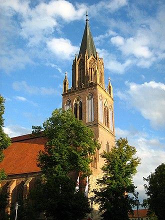 Neubrandenburg - Image: NB St Marien Kirche 26 VIII 2007 57