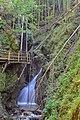 NDOÖ 181 Dr Vogelgesangklamm oberer Wasserfall.jpg