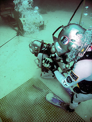 Tim Peake - Peake on the NEEMO 16 mission