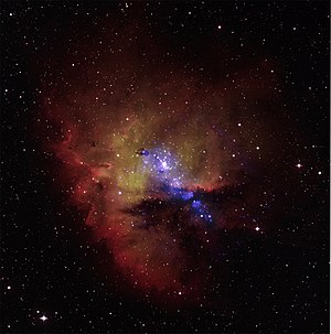 NGC 281 - Image: NGC 281 from Chandra