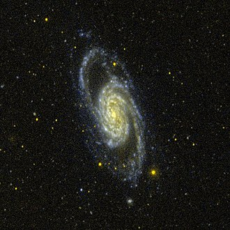 NGC 2903 - An ultraviolet image of NGC 2903 taken with GALEX.