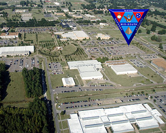 Naval Support Activity Mid-South - Aerial view of NSA Mid-South, October 2008