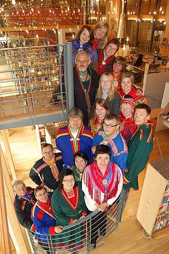 Norwegian Sámi Association - Image: NS Rs sametingsgruppe 2005 2009