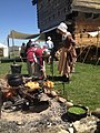 NT 2014 Frontier Muster and Trade Faire (14066552714) cooking fire.jpg