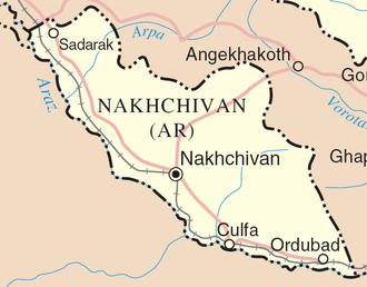 Armenians in Azerbaijan -  The Nakhchivan Autonomous Republic of Azerbaijan.